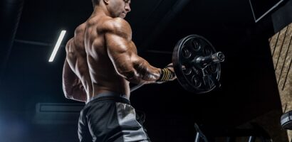 man in steroids for sale with weights